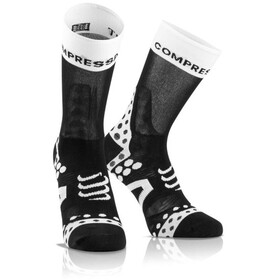 Compressport Pro Racing Ultralight Bike High Socks black-white